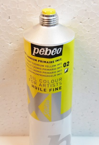 Tinta Óleo Pebeo Cádmium Yellow Hue #02 – 200ml