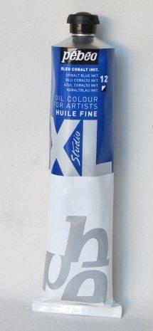 Tinta Óleo Pebeo Cobalt Blue Hue #12 – 200ml