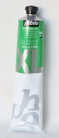 Tinta Óleo Pebeo Cádmium Green Hue #16 – 200ml