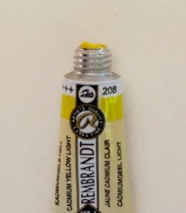 Tinta Aquarela Rembrandt Cadmium Yellow Light #208 – 5ml S3