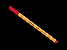 Caneta Stabilo Point 88/40 Vermelho