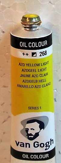 Tinta Óleo Van Gogh Azo Yellow Light #268 – 20ml S1