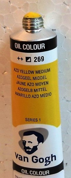 Tinta Óleo Van Gogh Azo Yellow #269 20ml S1