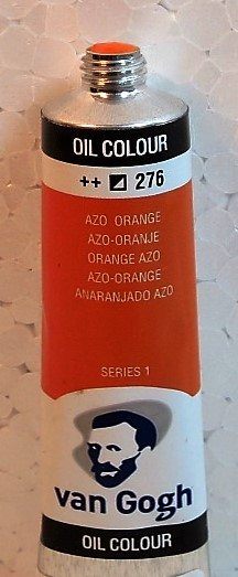 Tinta Óleo Van Gogh Azo Orange #276 – 20ml S1