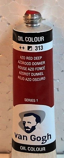 Tinta Óleo Van Gogh Azo Red Deep #313 – 20 ml S1