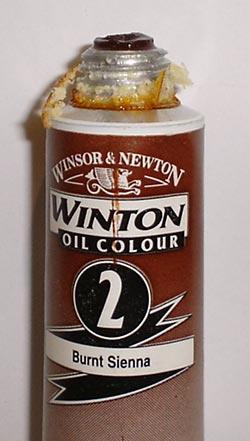 Tinta Óleo Winton Burnt Sienna #2 (074) – 200ml