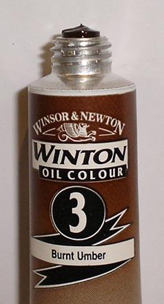 Tinta Óleo Winton Burnt Umber #3(076) – 200ml