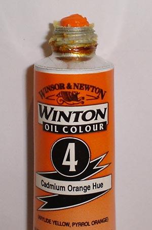Tinta Óleo Winton Cadmium Orange Hue #4(090) – 200ml