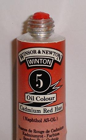 Tinta Óleo Winton Cadmium Red Hue #5(095) – 200ml