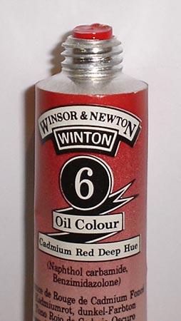 Tinta Óleo Winton Cadmium Red Deep Hue #6(098) – 200ml