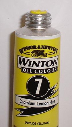 Tinta Óleo Winton Cadmium Lemon Hue #7(087) 200ml