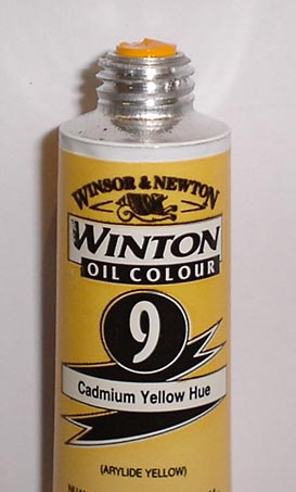 Tinta Óleo Winton Cadmium Yellow Hue #9(109) – 200ml