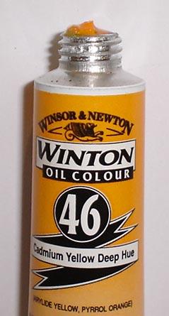 Tinta Óleo Winton Cadmium Yellow Deep Hue #46(115) – 200ml