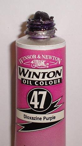 Tinta Óleo Winton Dioxazine Purple #47(229) – 200ml