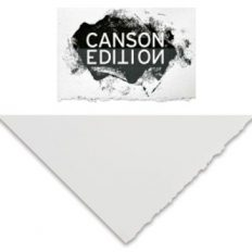 Papel Canson Edition Gravura  branco 250gr 76×112 100% algodão folha avulsa