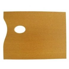 Paleta Retangular Madeira Trident 31×40 #12411