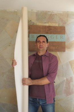Rolo de Tecido Preparado em Lona Carvalho 2,10x6m