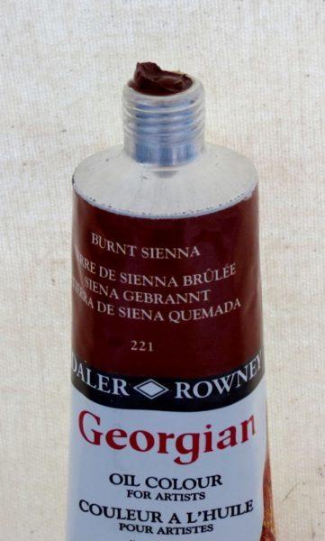 Tinta Óleo Georgian Burnt Sienna #221 – 75ml