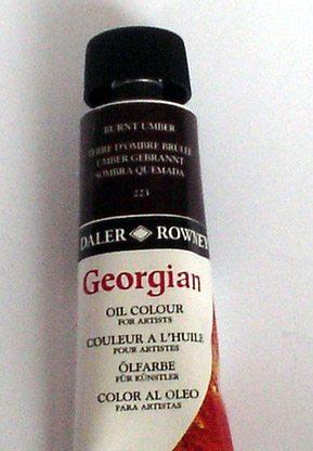 Tinta Óleo Georgian Burnt Umber #223 – 75ml