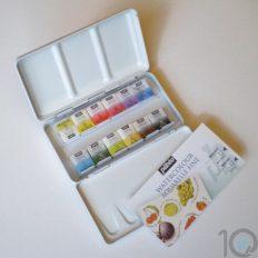 Estojo de Aquarela Pébéo Metal Box c/12 cores #300035