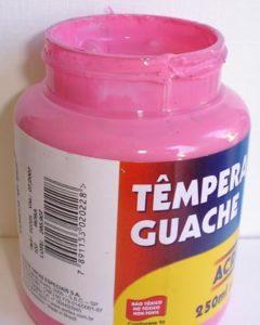 Tempera Guache Acrilex Rosa #537 – 250ml
