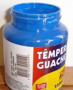 Tempera Guache Acrilex Turquesa #501 – 250ml