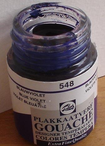 Tinta Guache Talens Blue Violet #548 – 16ml