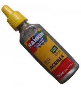 Nanquim Acrilex Prata 20ml