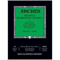 Bloco Pintura Arches 23x31cm 300gr CP 12 fls