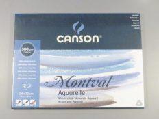 Bloco Pintura Canson Montval A4+ 300gr CP – 12fls
