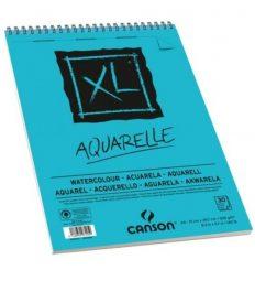 Bloco Pintura Canson XL Aquarela A4 300gr – 30 fls