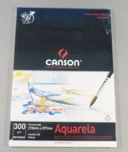 Bloco Pintura Canson Universitário Mix Media A4 300gr – 12fls