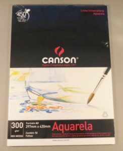 Bloco Pintura Canson Universitário Mix Media A3 300gr – 12 fls
