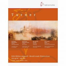 Bloco Pintura Hahnemuhle Turner 36x48cm 300gr CP 100% 10fls