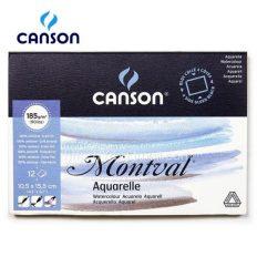Bloco Pintura Canson Montval 10,5×15,5cm 300gr Cp 12fls