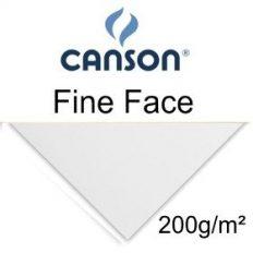 Papel Canson Fine Face Branco 100x70cm 200gr