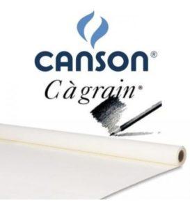 Papel em Rolo Canson c a Grain 180gr 1,5x10m