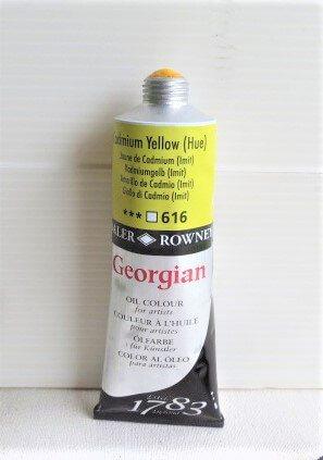 Tinta Óleo Georgian Cadmium Yellow Hue #616 – 75ml