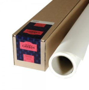Papel em Rolo Canson Heritage 300gr/m2 HP – 1,52×4,57m