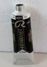 Tinta Óleo Rembrandt Ivory Black #701 – 150ml S1