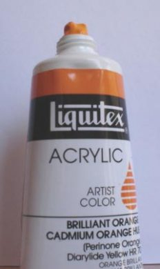 Tinta Acrílica Liquitex Cadmium Orange Hue #720 -59ml S2