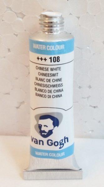 Tinta Aquarela Van Gogh Chinese White #108 – 10ml