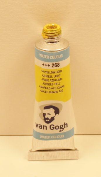 Tinta Aquarela Van Gogh Azo Yellow Light #268 – 10ml