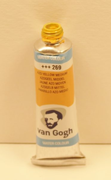 Tinta Aquarela Van Gogh Azo Yellow Medium #269 – 10ml