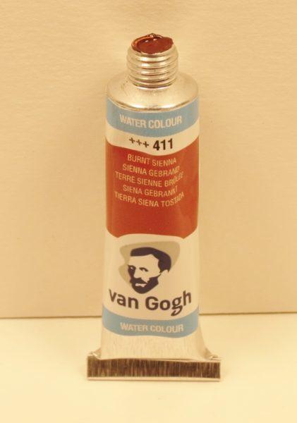 Tinta Aquarela Van Gogh Burnt Sienna #411 – 10ml