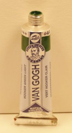 Tinta Aquarela Van Gogh Hooker Green Light #644 – 10ml