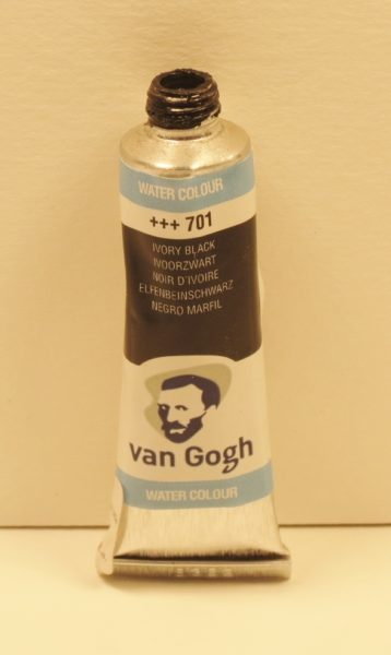 Tinta Aquarela Van Gogh Ivory Black #701 – 10ml