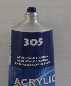 Tinta Acrilica  Acrilex Azul Ftalocianina #305 – 59ml