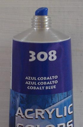 Tinta Acrilica  Acrilex Azul Cobalto #308 – 59ml