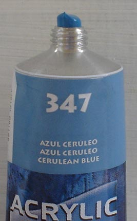 Tinta Acrilica  Acrilex Azul Ceruleo #347 – 59ml